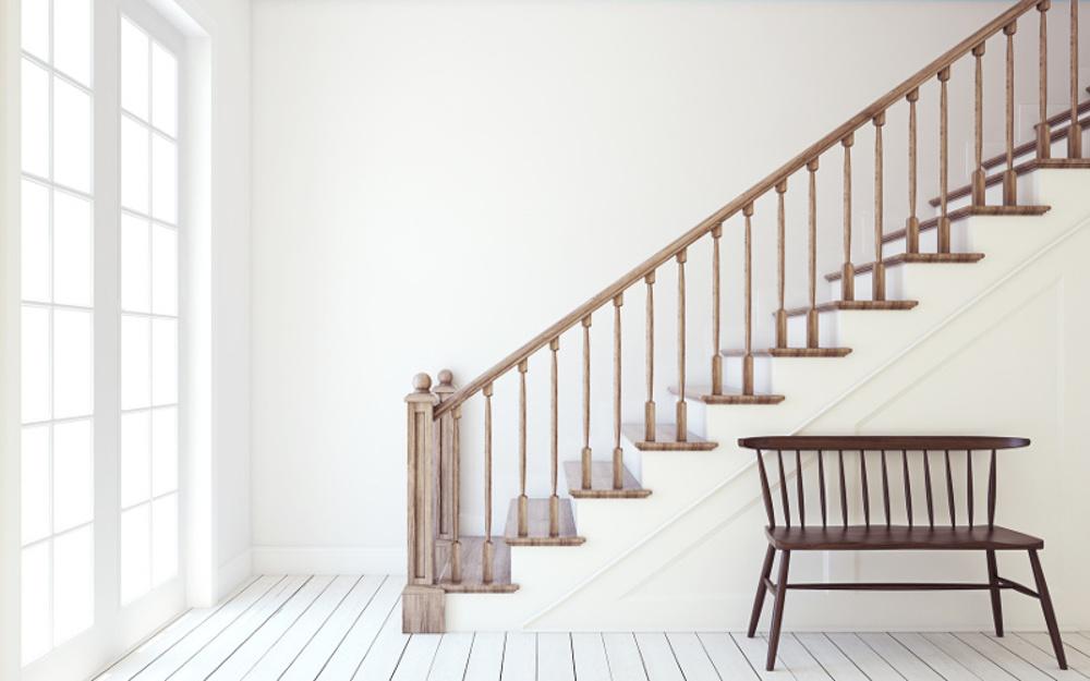 Funkcjonalność iponadczasowe piękno drewnianych schodów wewnętrznych
